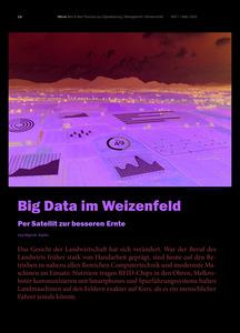 Big Data im Weizenfeld