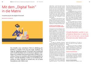 """Mit dem """"Digital Twin"""" in die Matrix"""