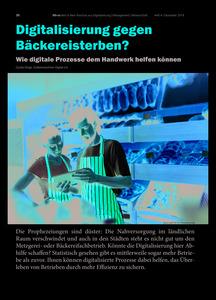 Digitalisierung gegen Bäckereisterben?