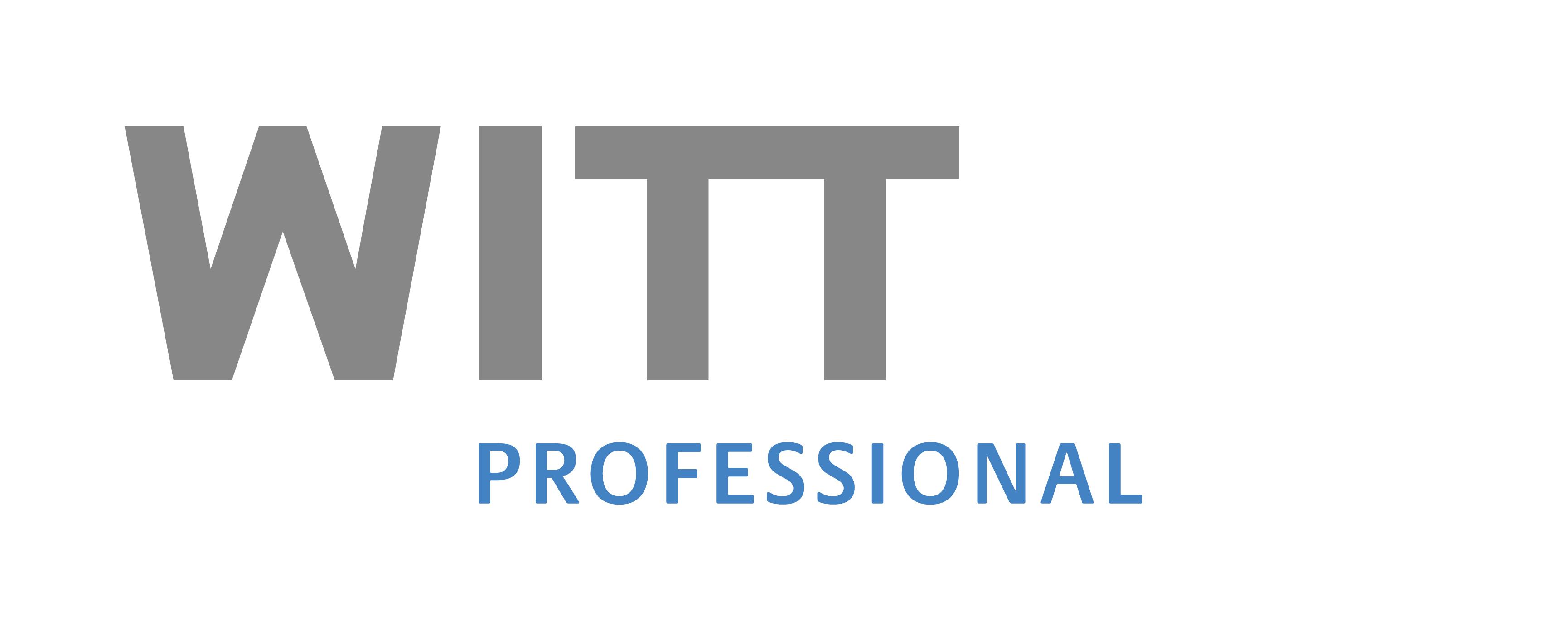 WITT professional - berufsbegleitende Seminare